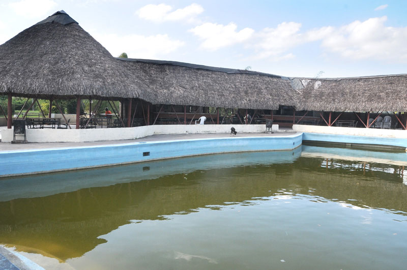 Lamentablemente, la piscina está contaminada, y las posibles soluciones no puedan estar más alejadas del contexto económico del país