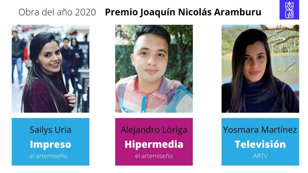Premios periodísticos por la obra del año 2020 en Artemisa